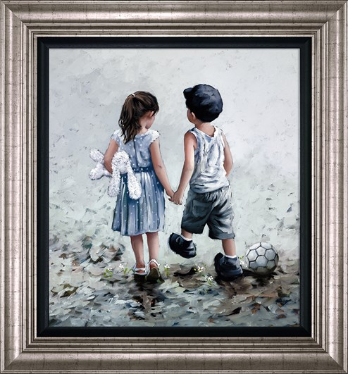 Small Talk by Keith Proctor - Framed Limited Edition on Canvas